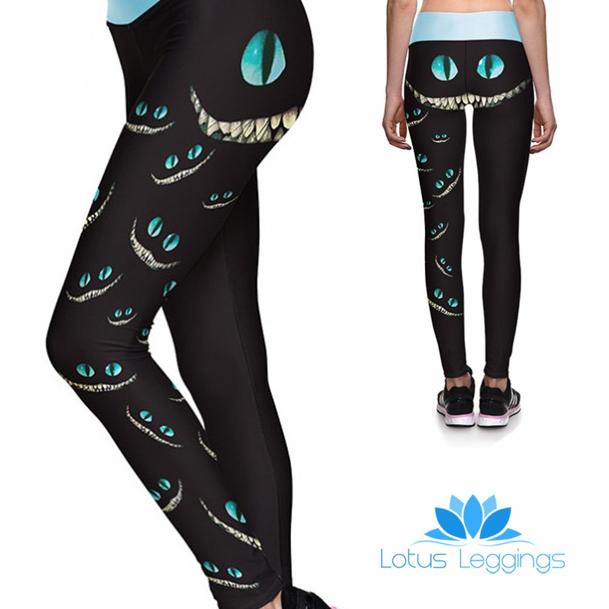 3794848610ec12 Mad here athletic leggings | fashion* | Leggings, Cheshire cat ...