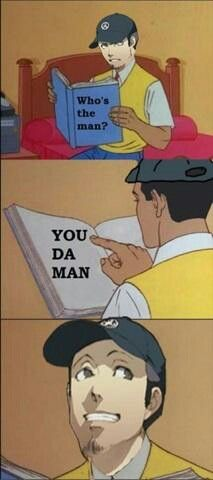 Junpei Is Da Man Shin Megami Tensei Persona Persona Persona 5