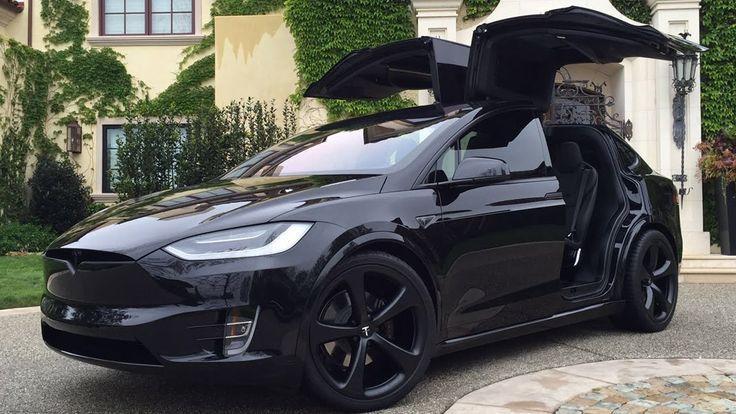 Cool Tesla 2017 Model X Signature Edition P90d Black Out You C