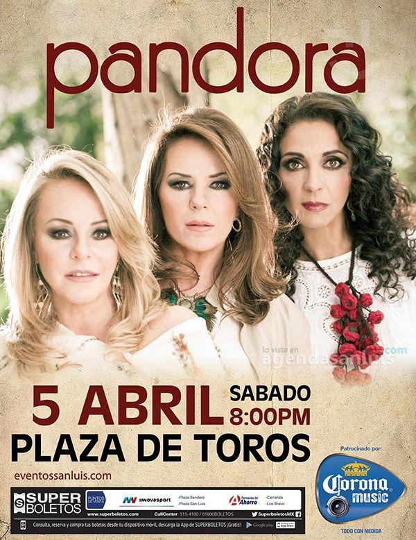 Otra promo de accesos dobles para Pandora en San Luis, en Twitter http://twitter.com/sanluispotosimx y en http://agendasanluis.com con solo comentar