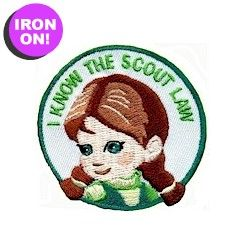 Girl Scout Law Fun Patch from MakingFriends.com. Rewards your girls after they learn the Girl Scout law.