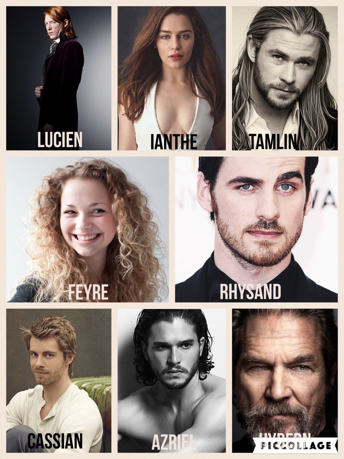 This Would Be My Dream Cast If The Court Of Thorns And Roses