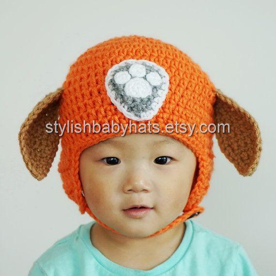 Zuma Hat PAW Patrol Hat Crochet Baby Hat by stylishbabyhats | Hoed ...