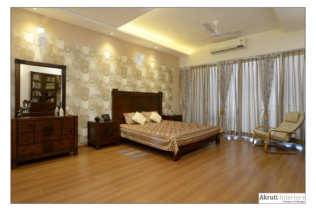 Master Bedroom Modern By Akruti Interiors Pune Modern Plywood