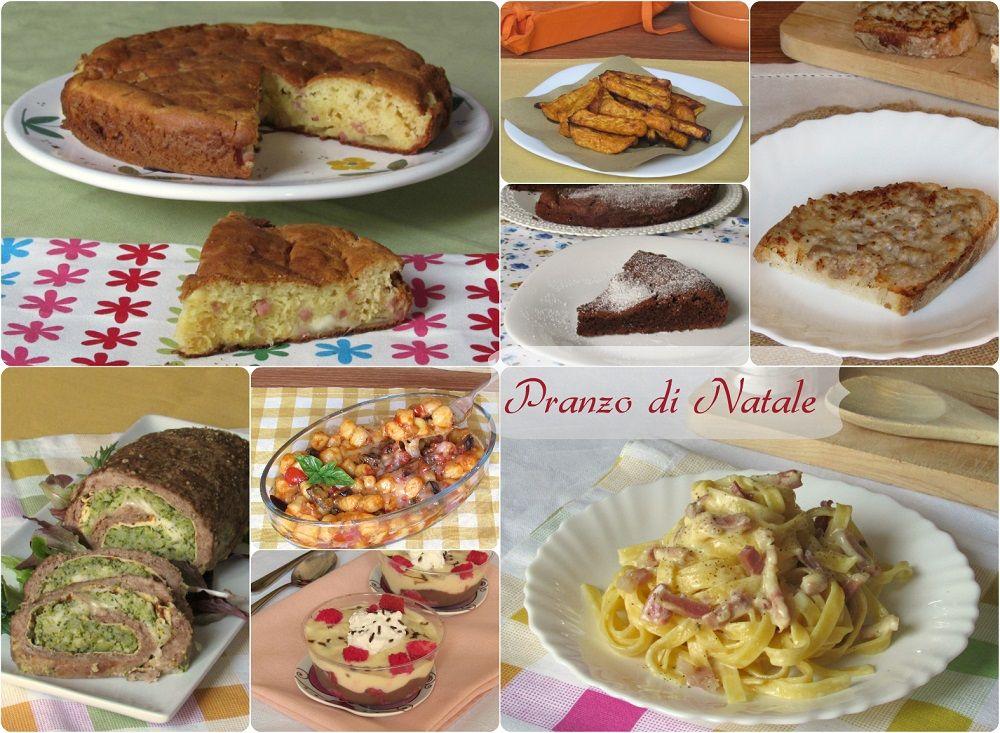 Pranzo Di Natale Menu Ricette.Il Pranzo Di Natale 10 Ricette Facili E Sfiziose Ricette Ricette Facili Ricette Pranzo