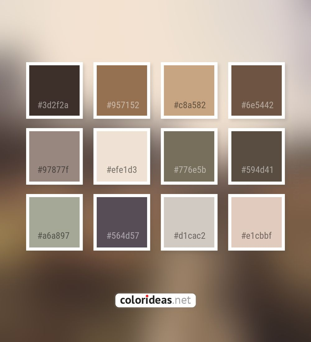 Woody Brown Dark Gray Smoked Parchment Beige Color Palette Colors Inspiration Graphics Design Brown Color Palette Color Palette Pink Beige Color Palette