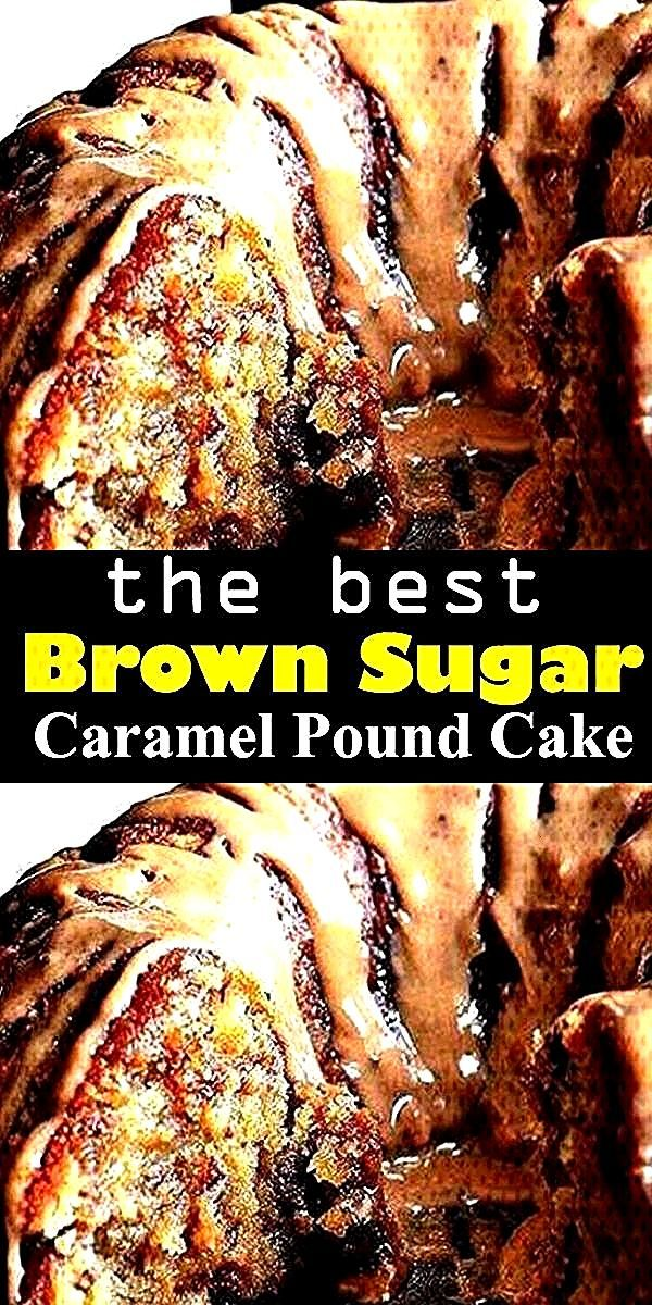 Brown Sugar Caramel Pound Cake