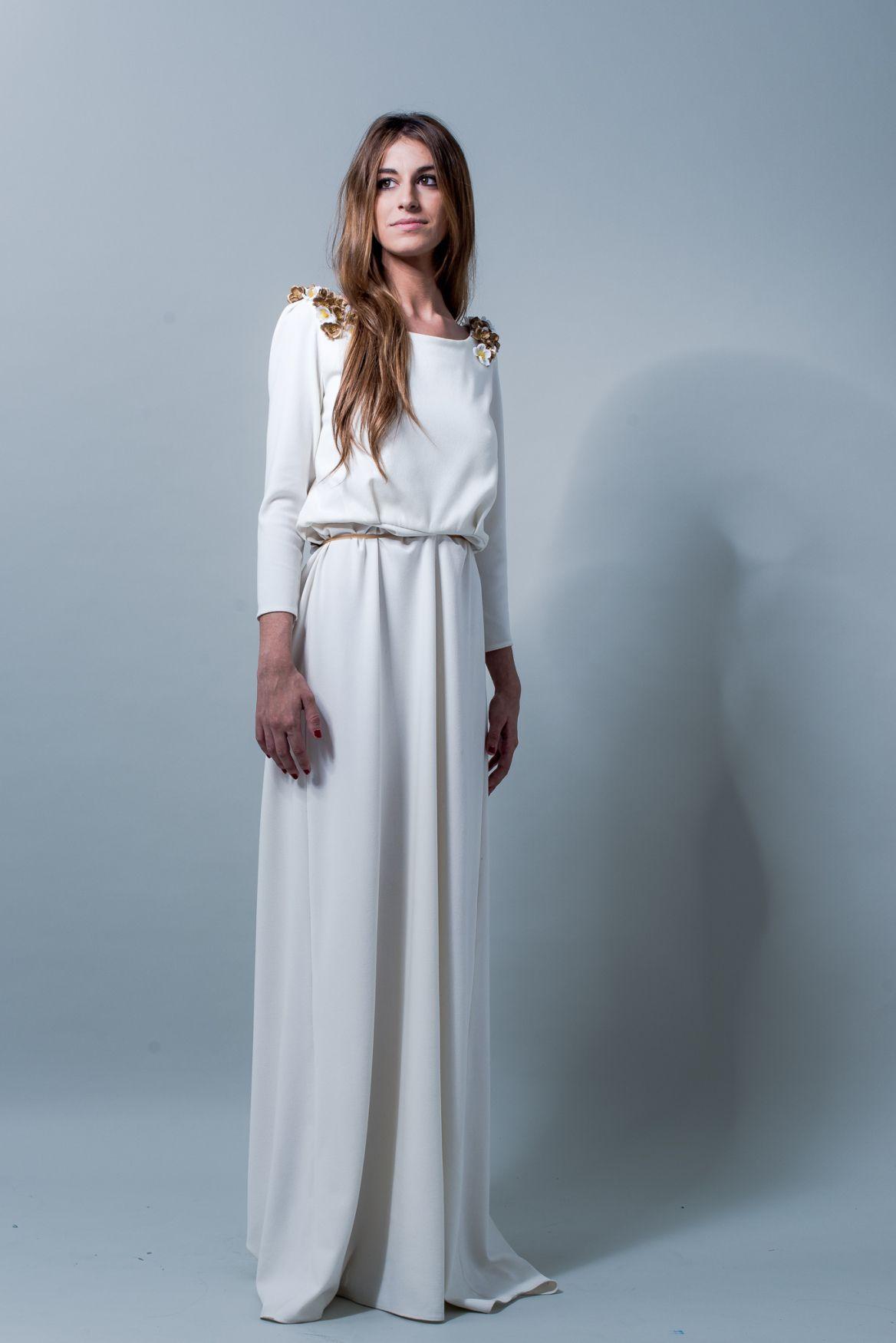 el blog de ana suero-Vestidos novia 2016-Maria Baraza vestido Laura ...