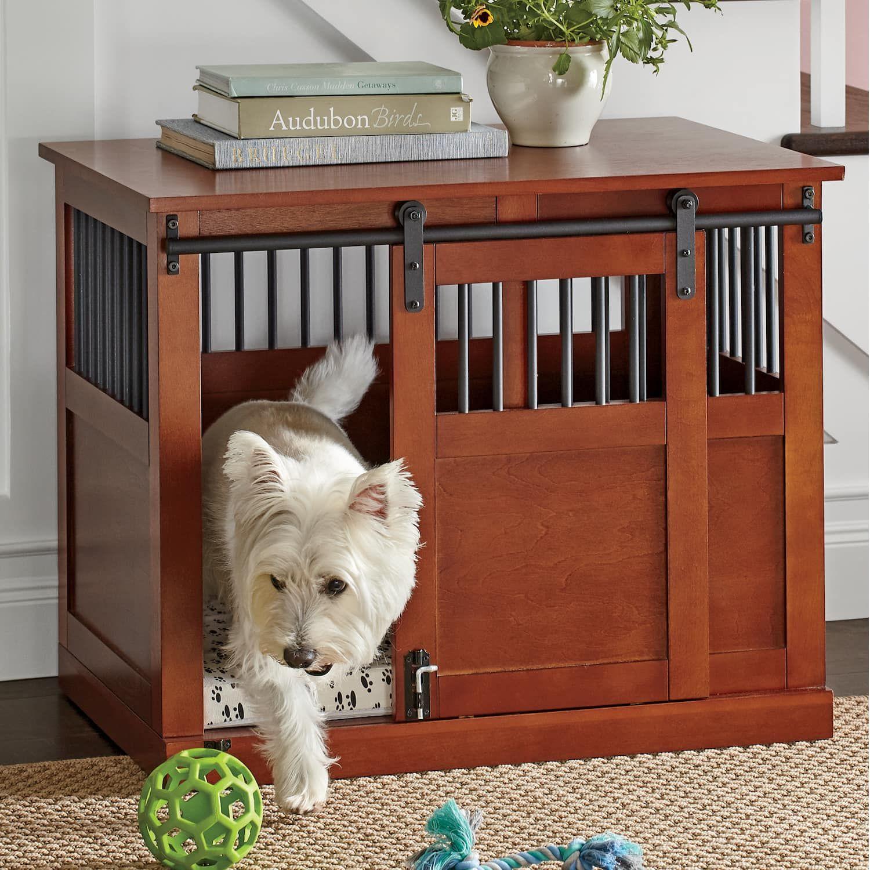 Barn Door Dog Crate Dog Kennel Furniture Dog Crate Furniture