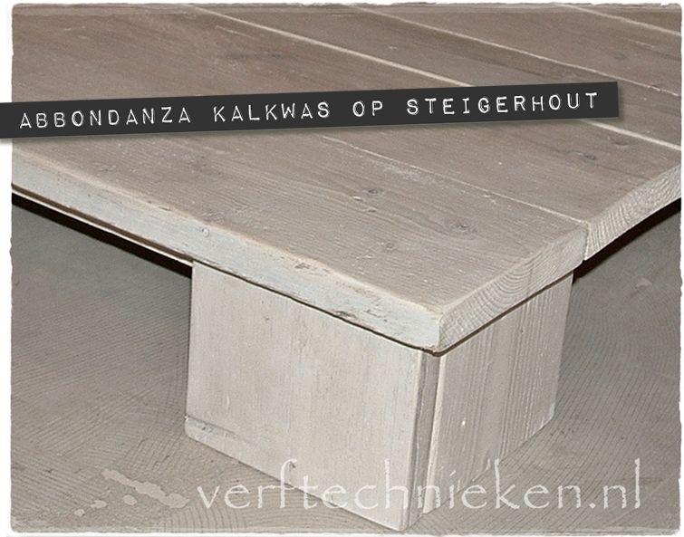 Vinyl Steigerhout Look : Kalkwas op steigerhout verftechnieken knutselen pinterest hoe