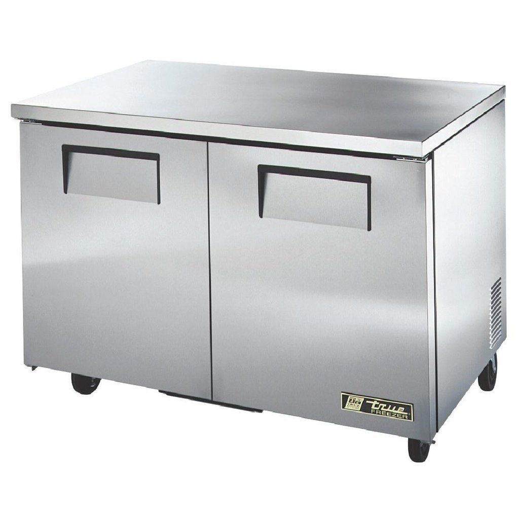 True Undercounter Freezer 2 Doors Stainless Steel Icegroup