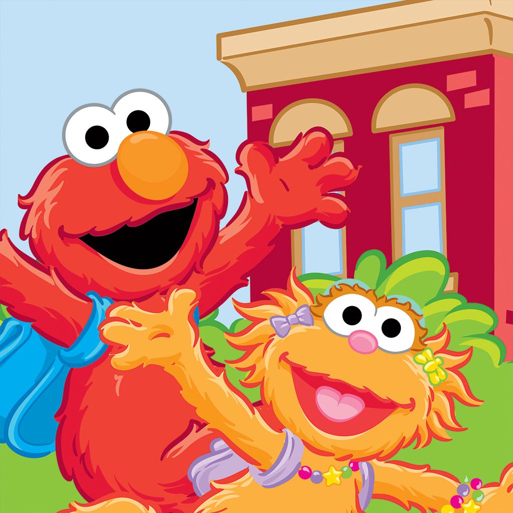 Sesame Street Sesame Street Gang For Art Time Recess Sesame Street Sesame Street Books Elmo Wallpaper