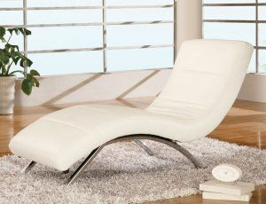 Modern Contemporary White Leather Chaise Lounge Chair Global Furniture Usa Global Furniture Contemporary Chaise Lounge Chairs