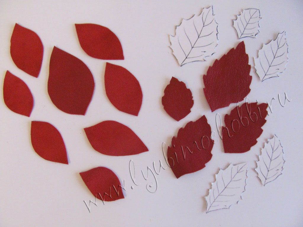 6e42534bdd6f цветы из кожи выкройки | природа цветы кожа | Silicone Molds и Tray