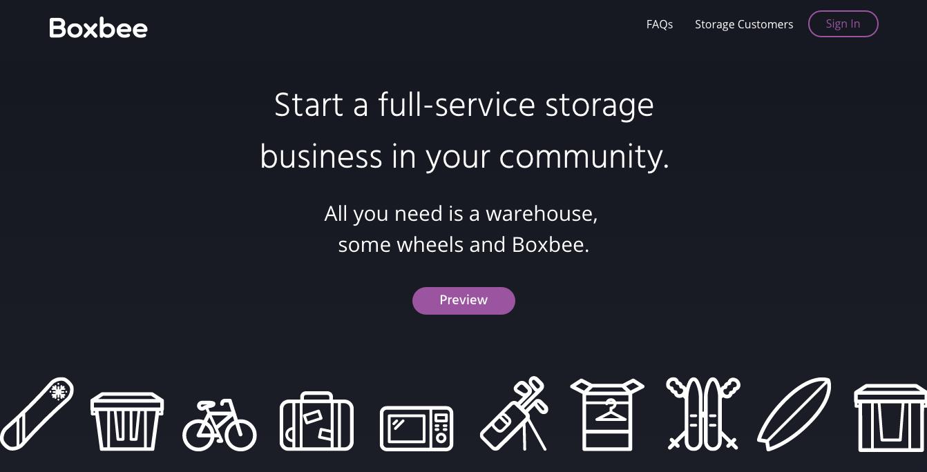 boxbee-homepage-design | website design | pinterest | back to