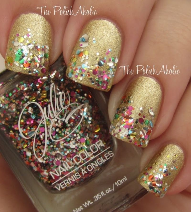 31 #Fantastic Mardi Gras Nail Art Ideas ...   Tough as nails ...