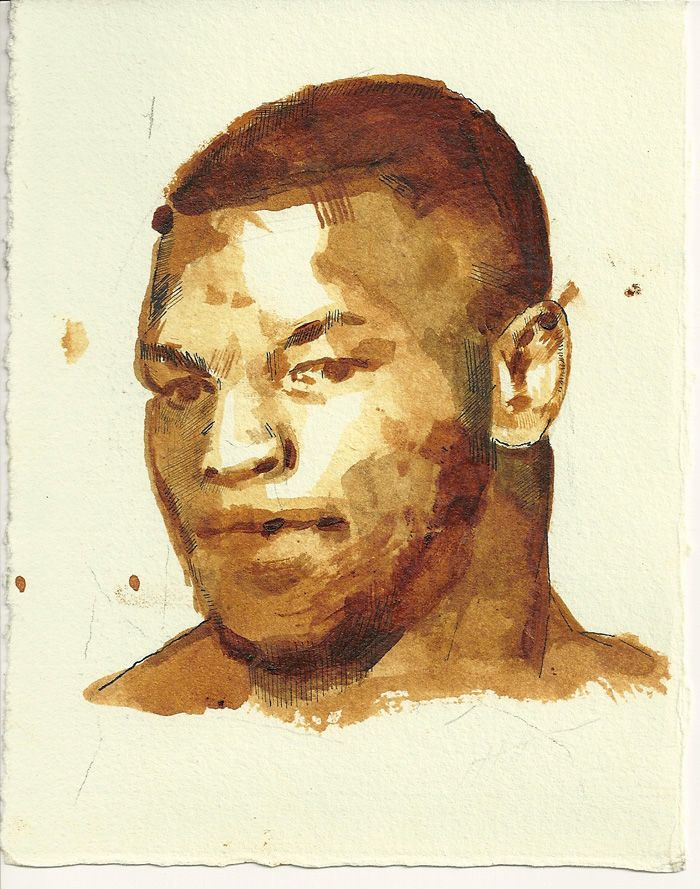 mike tyson Sketches, Mike tyson, Art