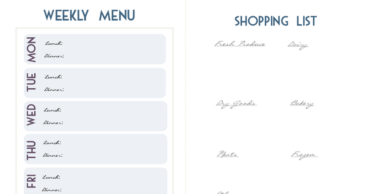 meal planner (blog).pdf Meal planner, Blog planner, Planner