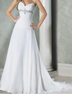 Vestido De Novia Traje De Gala La Noche De Bodas Ebay Vestidos De Novia Vestidos De Novia Sencillos Vestido De Novia Elegante