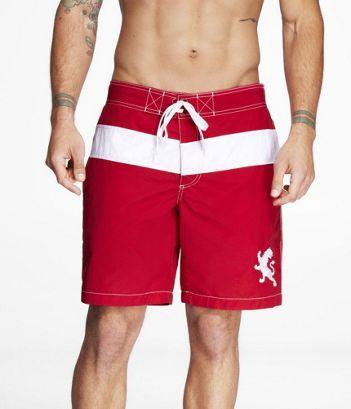 953ac80295 Express swim shorts, red | My Style | Swim shorts, Swim trunks, Dresses