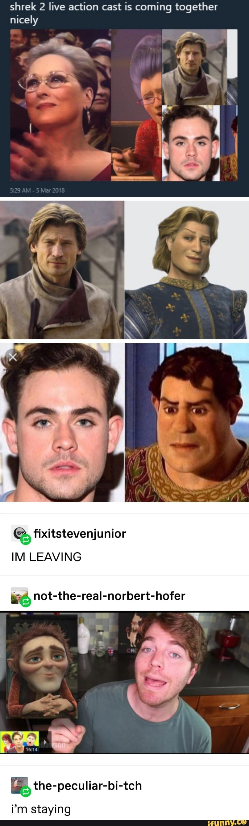 Shrek 2 live action cast is coming together nicely - iFunny :) | It cast,  Live action, Funny video memes