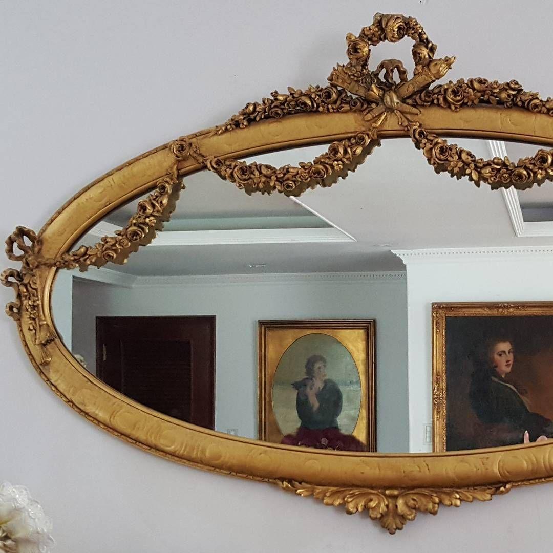 Mirror Decor, Romantic Interior, Antique