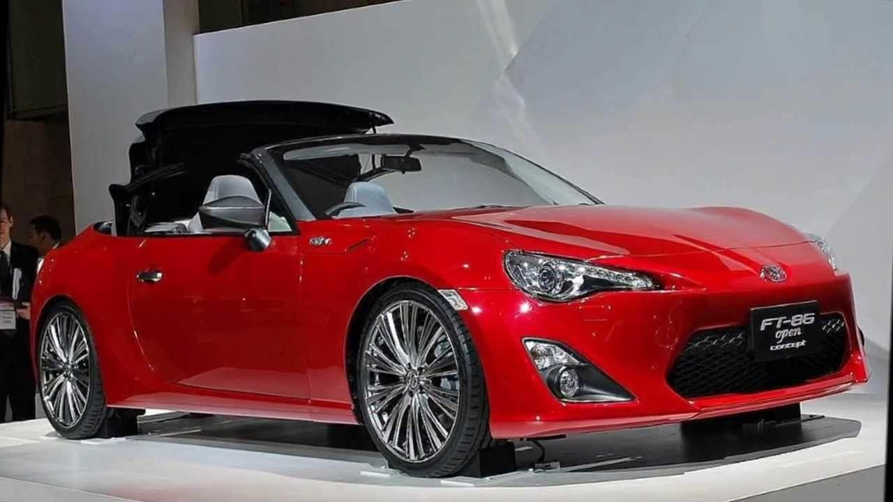 2014 Toyota 86 Convertible on wish list
