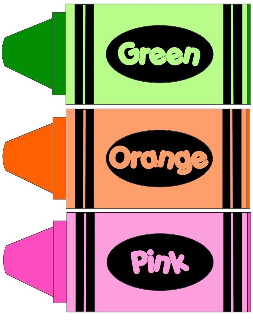 Download Color Crayons | Colores preescolares, Dibujos para ...