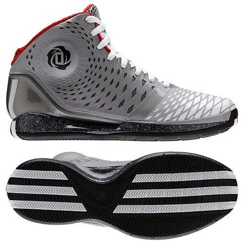 Adidas D Rose 3.5 Shoes Aluminum/Running White on Sale