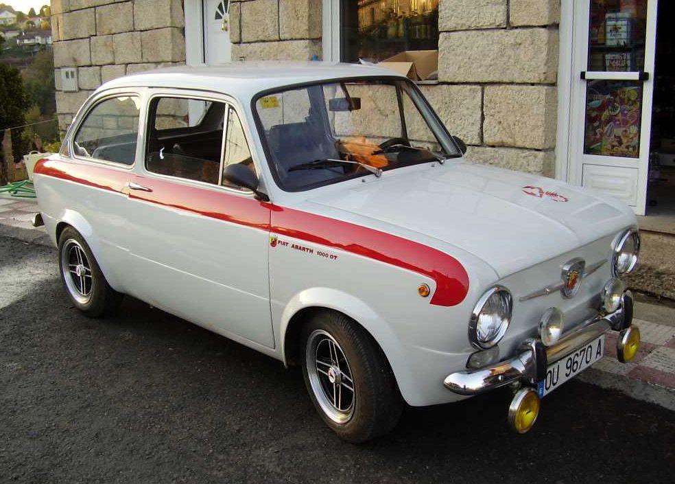 Fiat Abarth Ot 1000 Fiat Abarth Fiat 850 Fiat