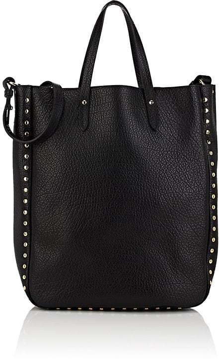dff564b582 Barneys New York Women s Studded Leather Tote Bag-Black
