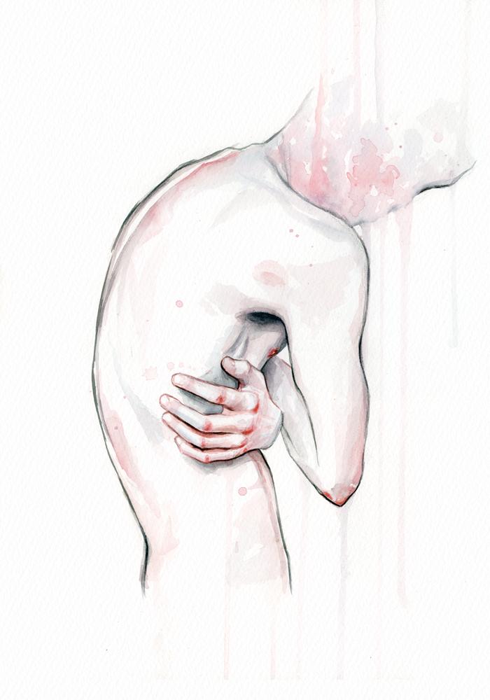 Watercolor Figure by Tomasz-Mro.deviantart.com on @DeviantArt ...