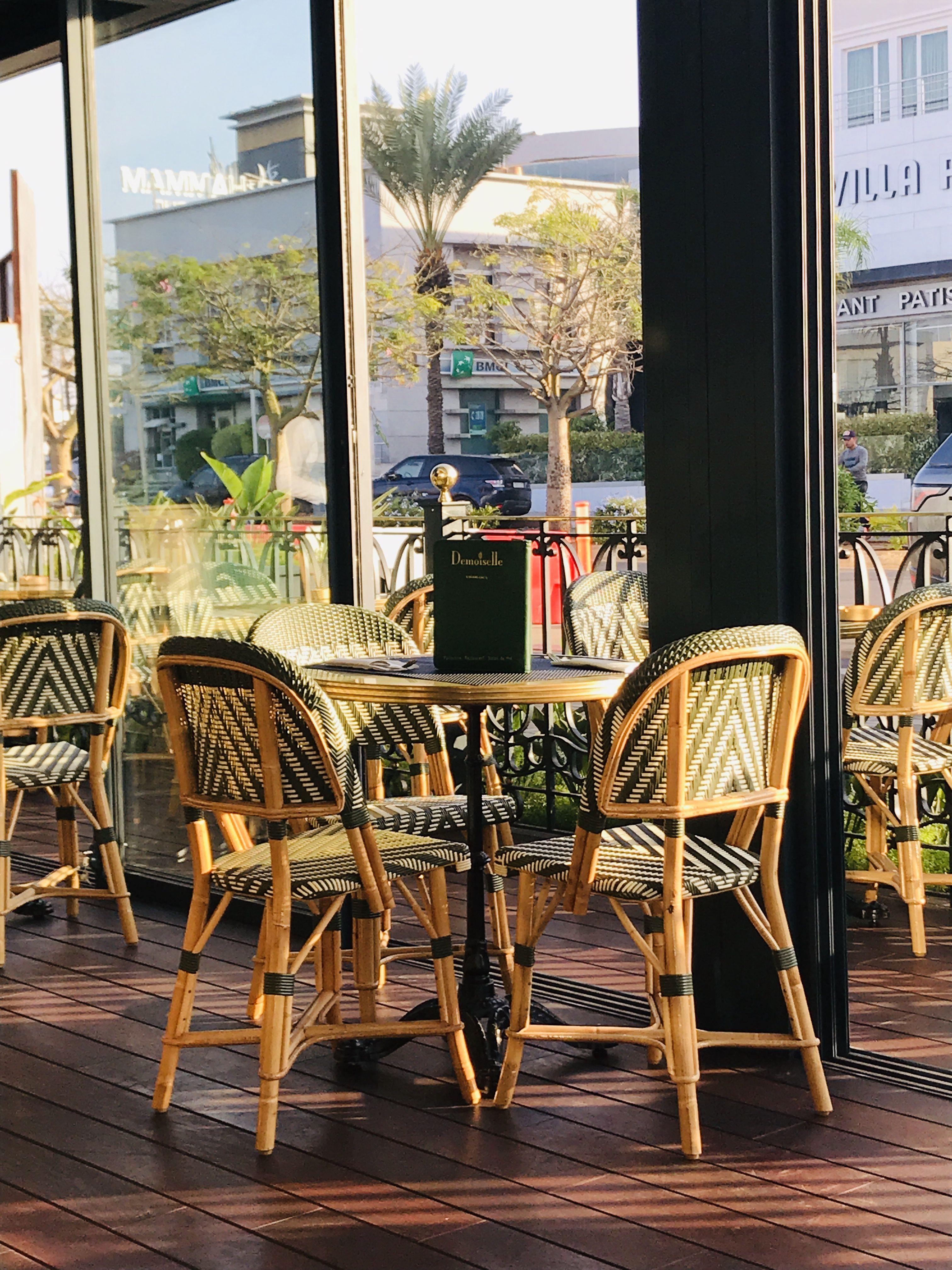 Terrasse Demoiselle Cafe Decor Furniture Home Decor
