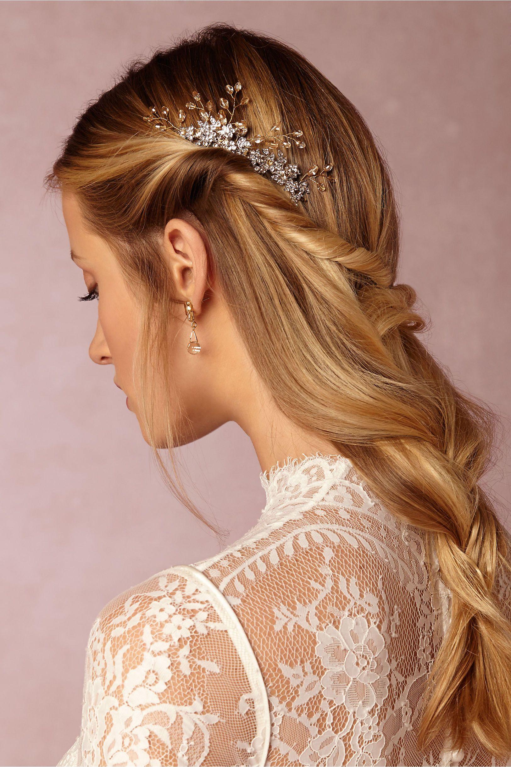 bhldn cork-pop comb in bride veils & headpieces pins, clips