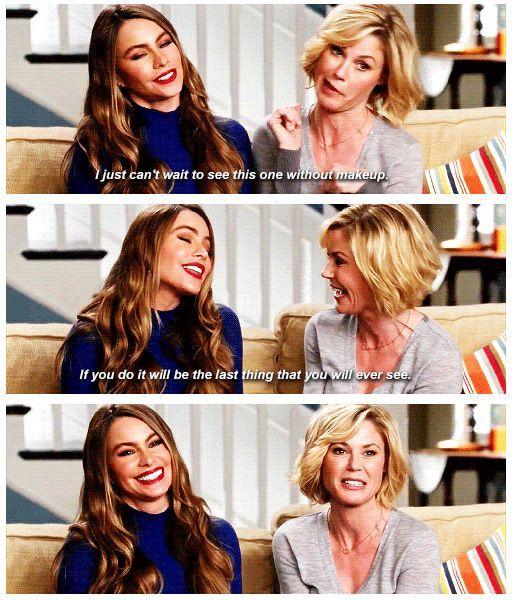 5 Netflix Series I Love Rewatching In 2020 Modern Family Funny Modern Family Quotes Modern Family Gloria