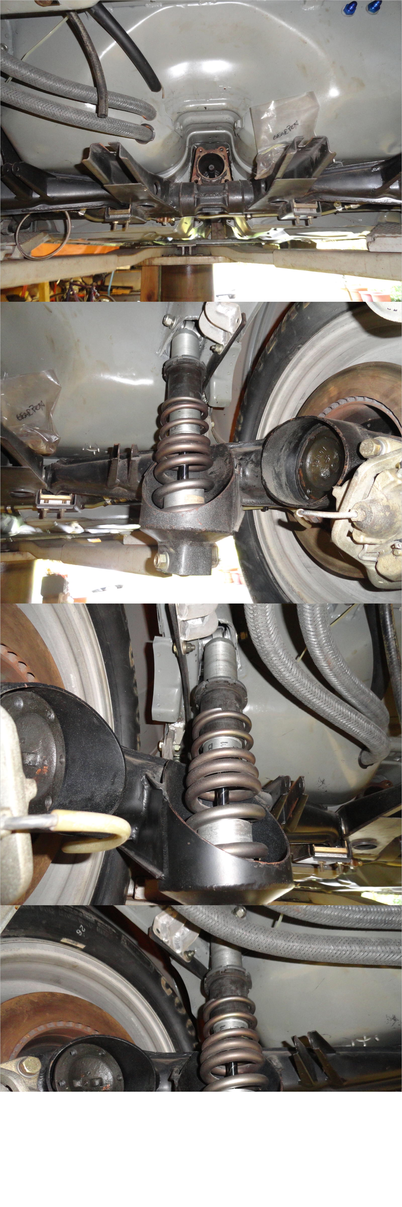 hight resolution of porsche 944 factory modified rear suspension geometry corrected