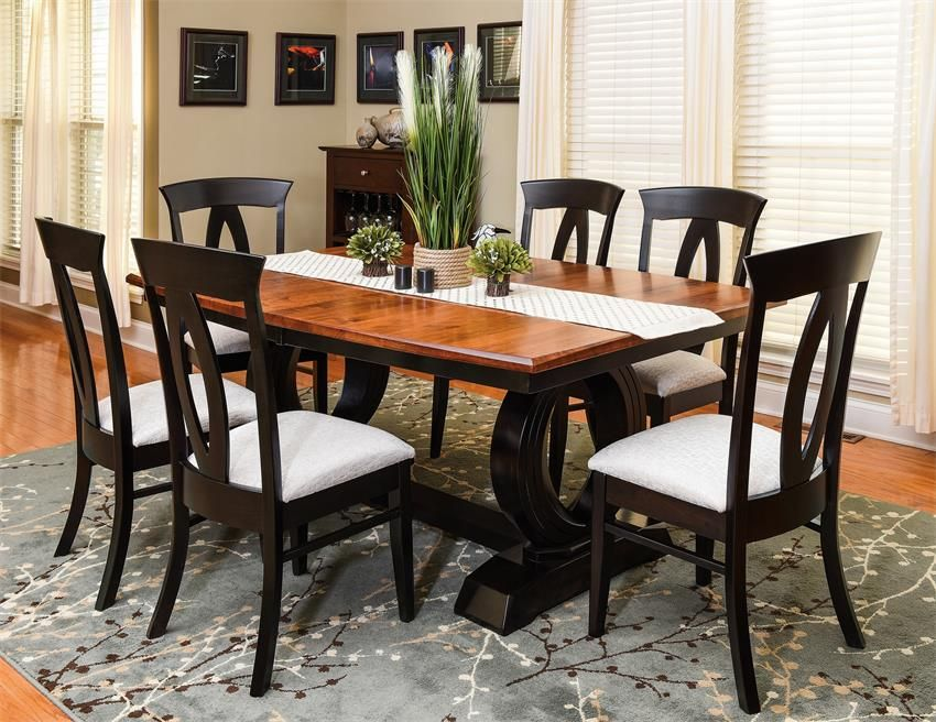 our amish saratoga dining room set is sure to make every meal, Esstisch ideennn