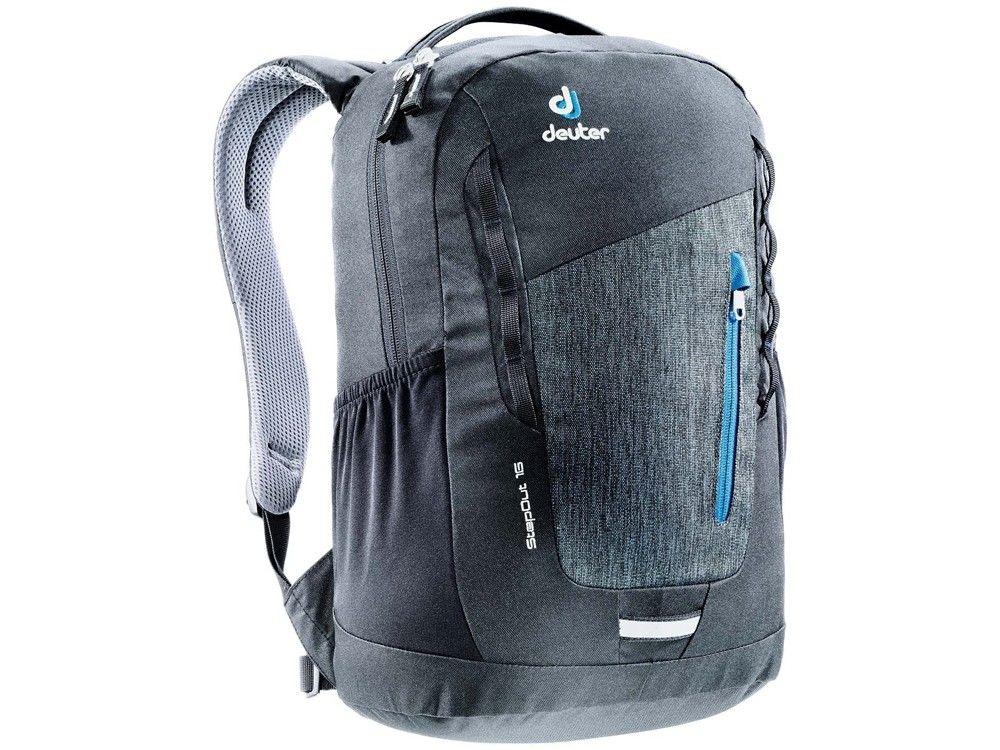 Gorodskoj Ryukzak Deuter Stepout 16 Seryj 16 L 3810315 7712 Black Backpacks Daypack