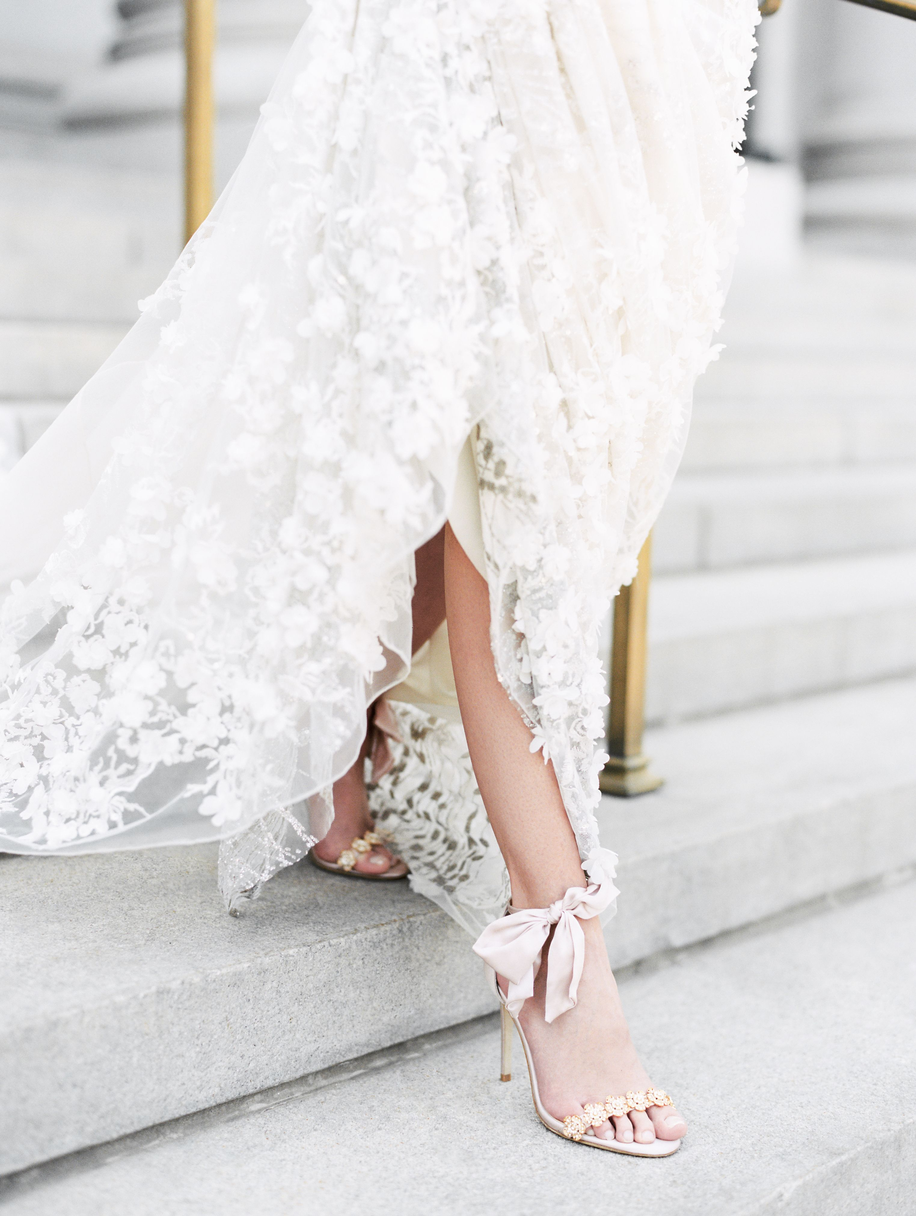 Wedding Evening Pink Shoes With Bows Blush Wedding Shoes Wedding Dresses Wedding Heels
