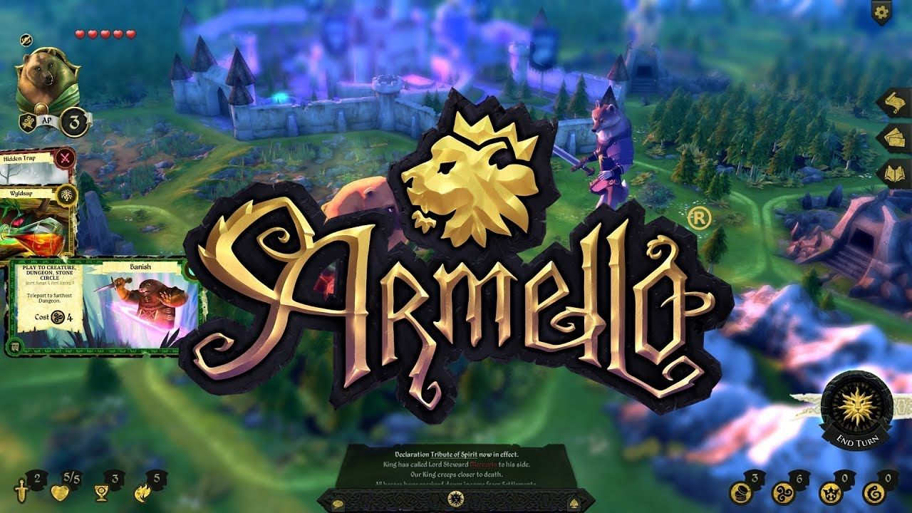 Armello android game first look gameplay español Card