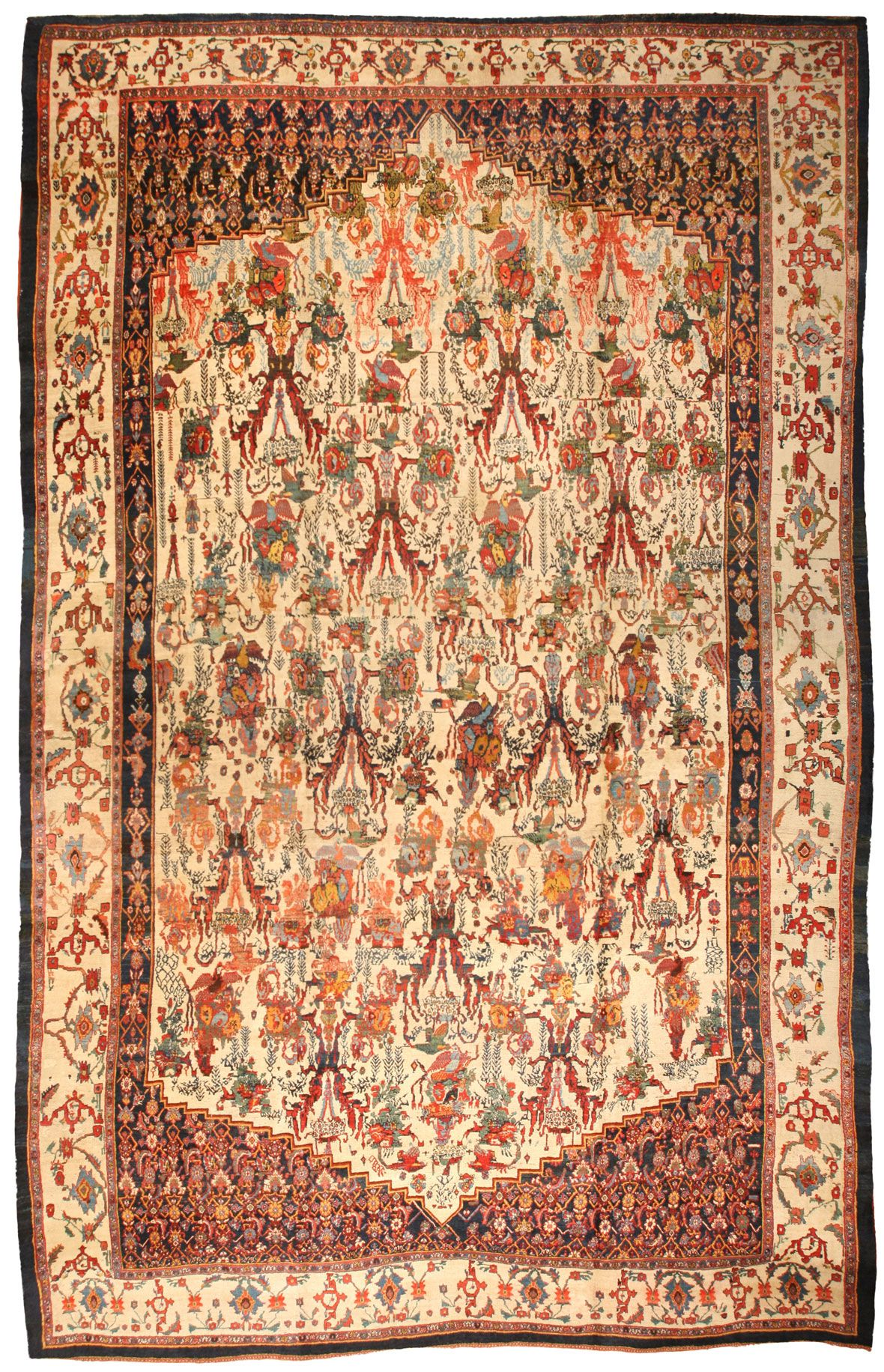 Bijar Tapijt Antique Persian Bidjar Bijar Rugs The Iron Carpet Of Iran Are
