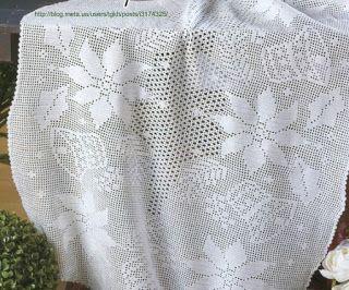 Copritavolo Uncinetto ~ Hobby lavori femminili ricamo uncinetto maglia boże