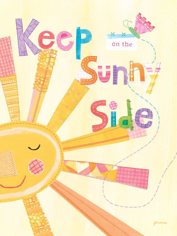 Oopsy Daisy Canvas Wall Art Keep on the Sunny Side by Jill McDonald ...
