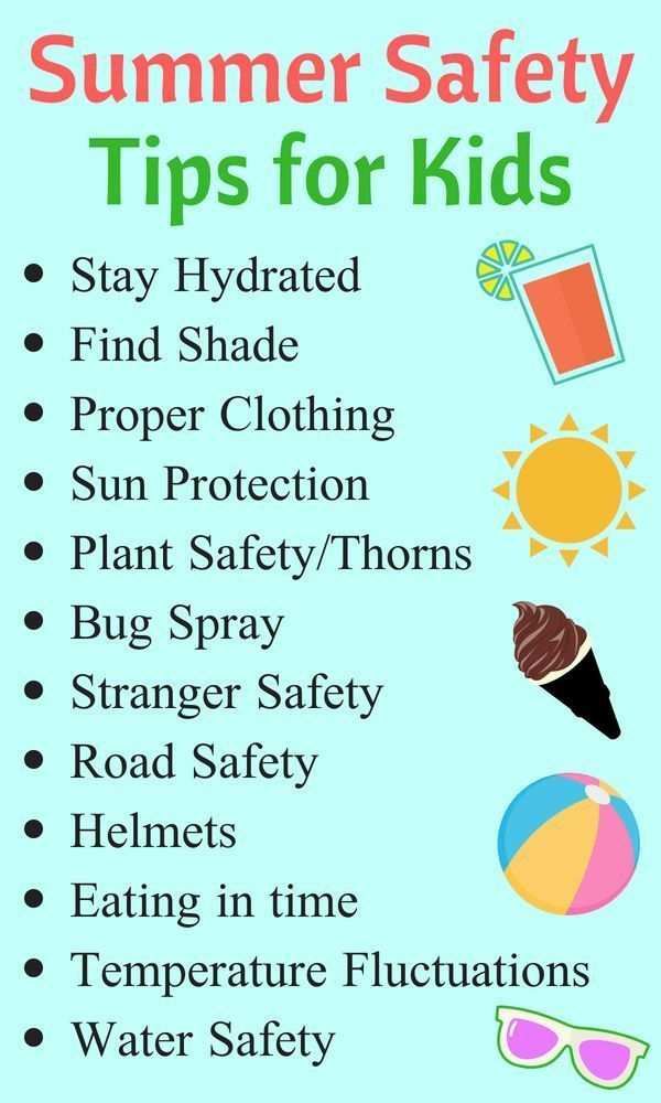 12 Summer Safety Tips - to avoid bummers in summers. {Nested Blissfully}