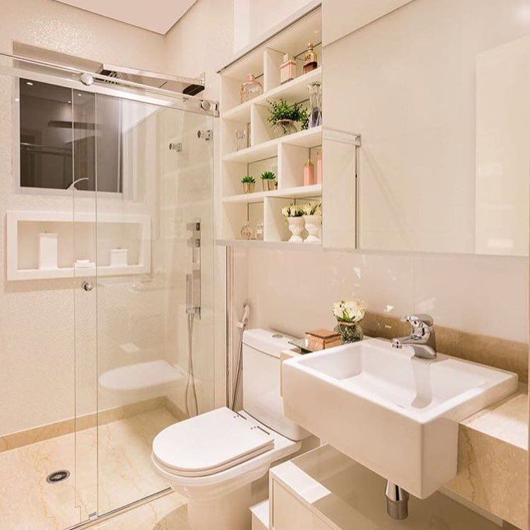 Só porque eu amo banheiros ❤️ autoria de Monise Rosa Arquitetura | @decorcriative meu insta: @lorefelima