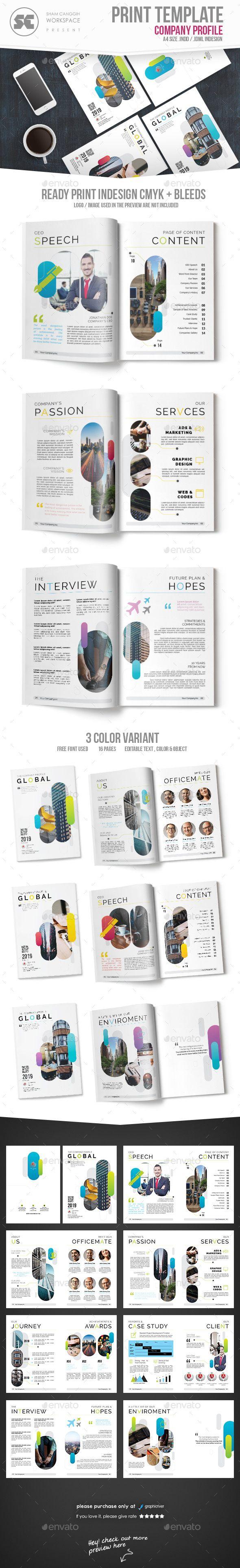 Company Profile | Company profile, Template and Brochures