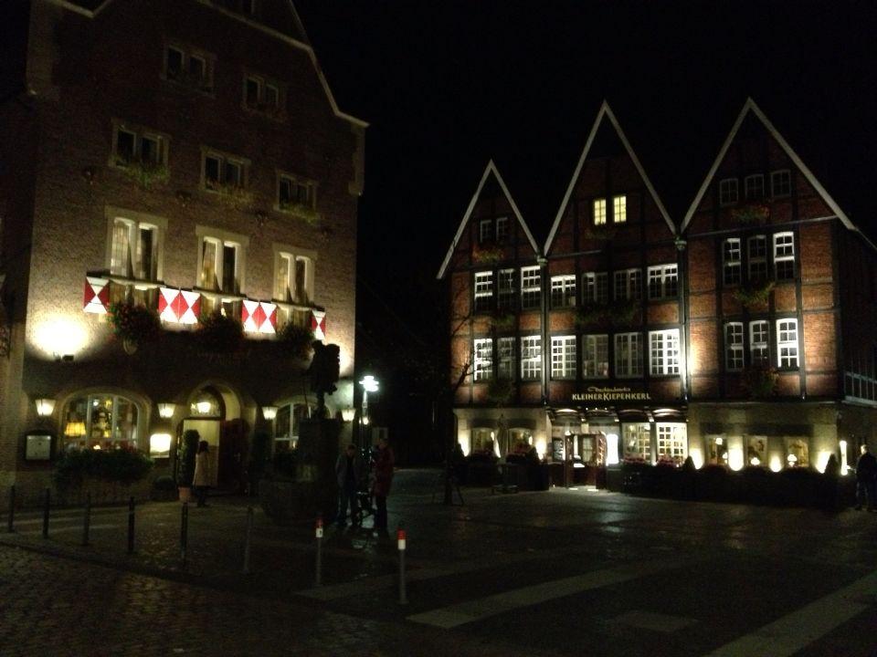 Kiepenkerl-Viertel mit gleichnamigen Gasthäusern
