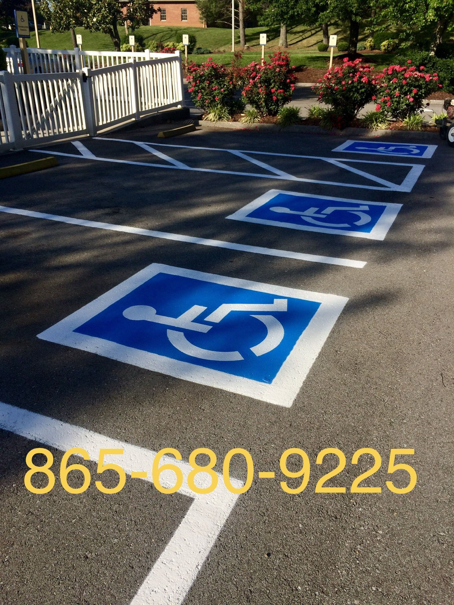 Parking Lot Striping Athens Tn Knoxville Tn Handicap