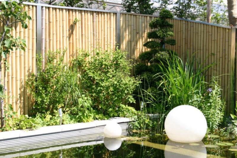 Bambus Sichtschutz Fence Gate Pinterest Selber Bauen