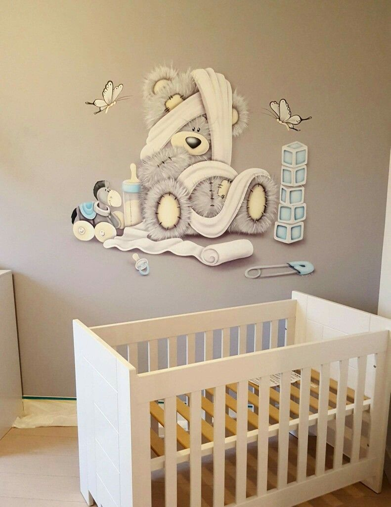 Me to you muurschildering muurschildering 3d babykamer me to you muurschildering amipublicfo Images